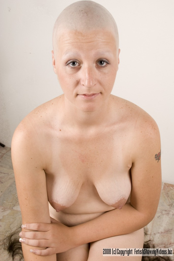 What words..., Shaved head girls nude think, that