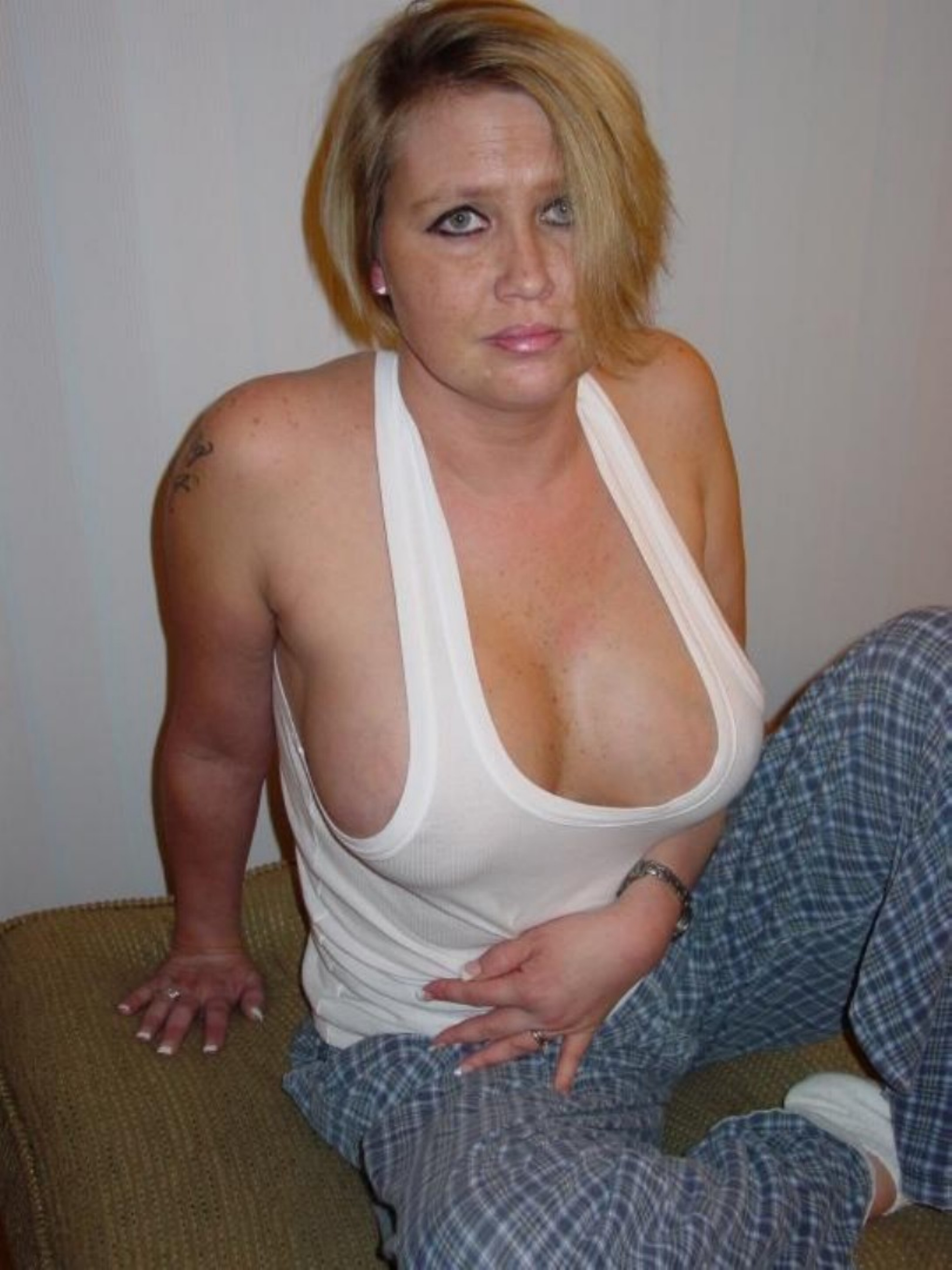 Mature tits in tops