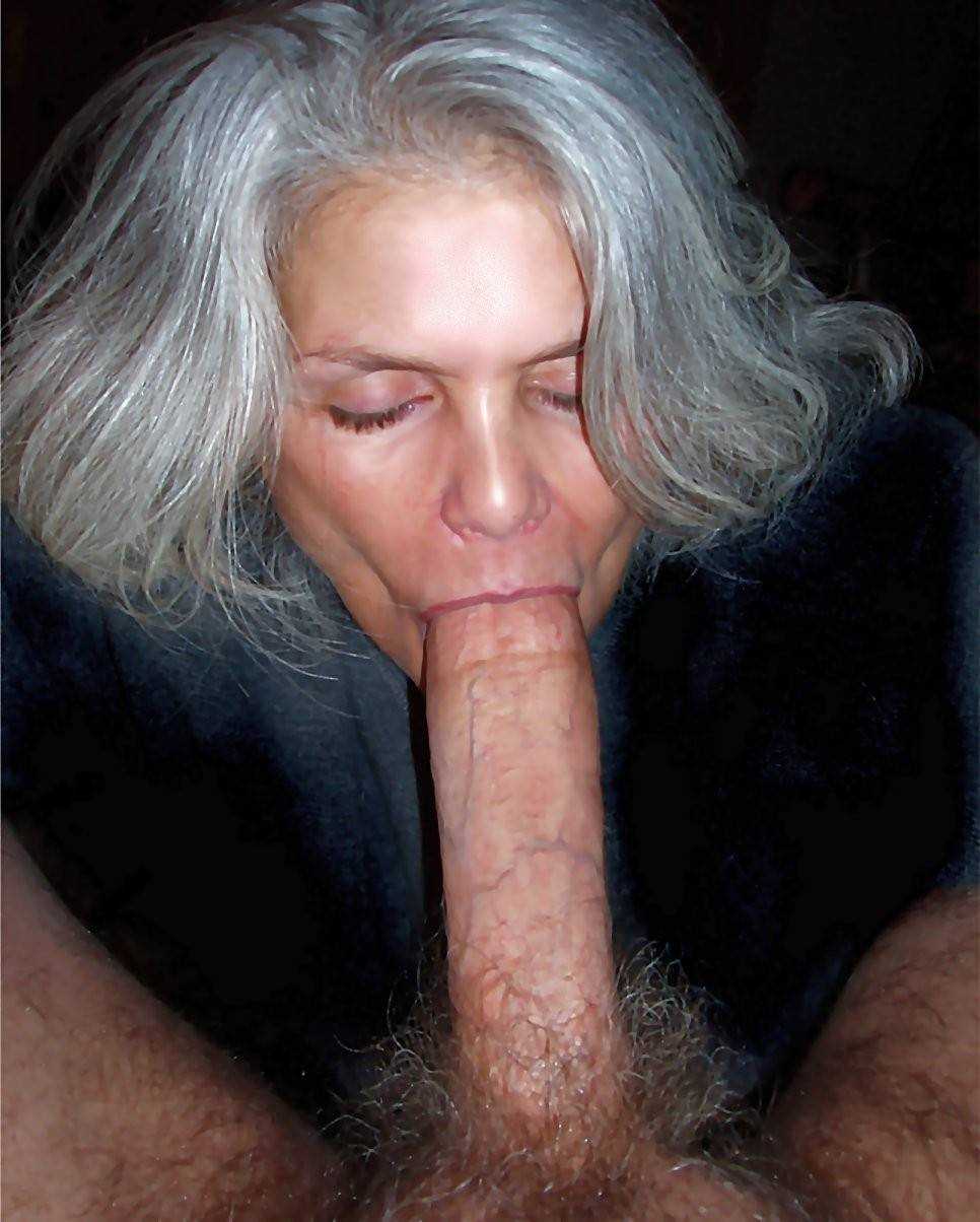 Grandmother Sucking Cock
