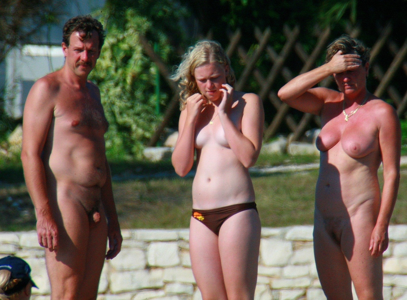 Naturist nudist mature families