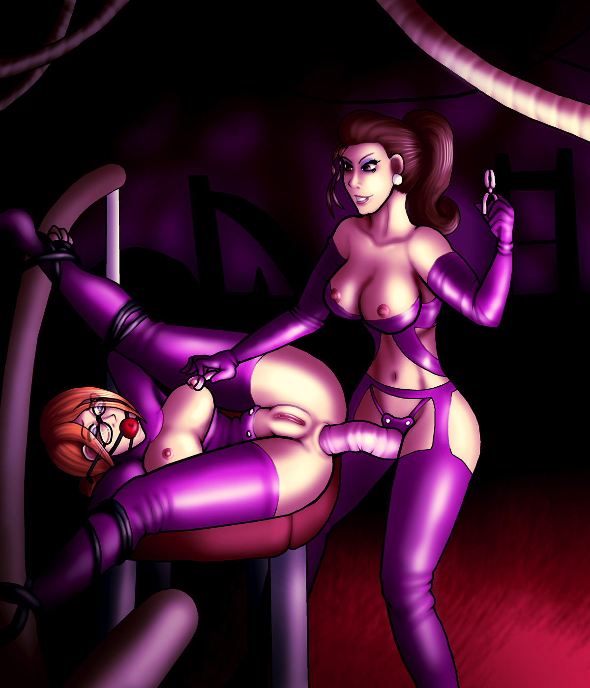 Saints row 4 kinzie hentai porn video