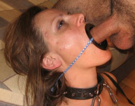 Ring gag throat choked pics and porn images