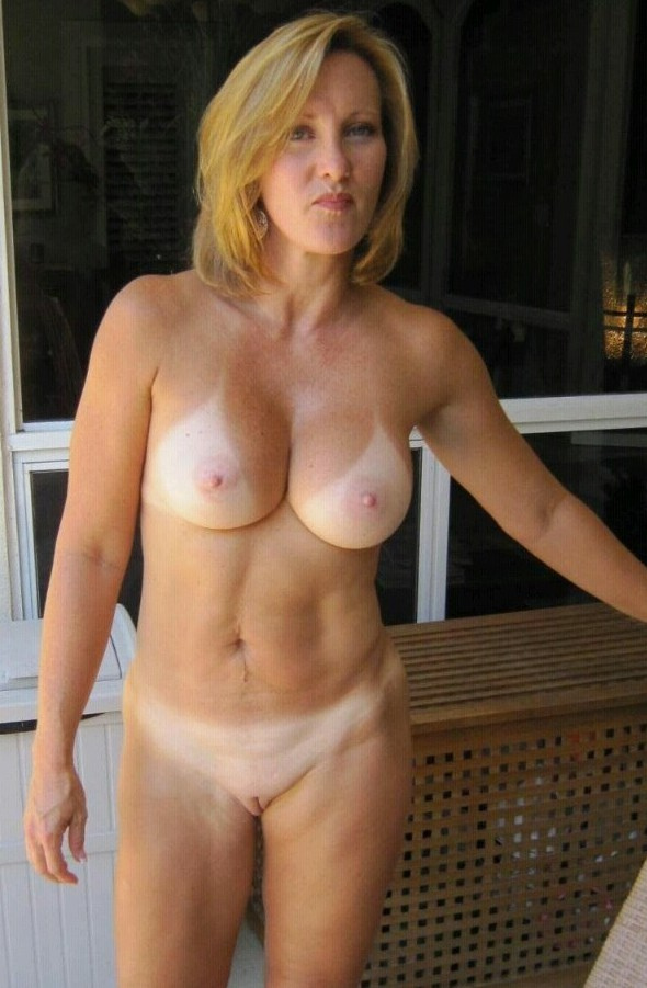 milfs naked lines Hot tan