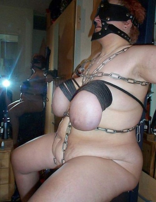 Fat women bondage