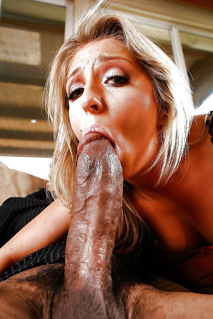 Hotwife Jennifer White Sucking Black Stud While Husband. -
