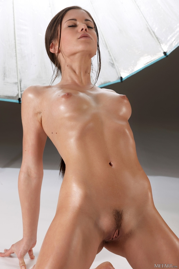 Small tit shaved