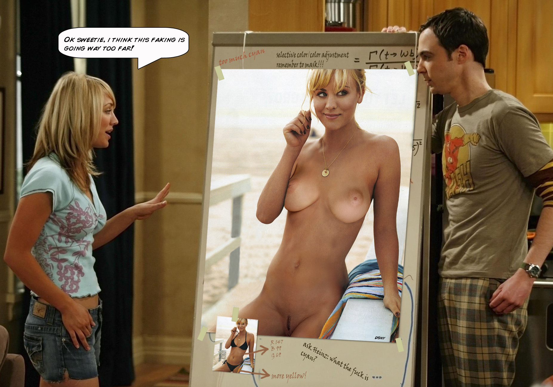 Big bang theory nude cosplay — img 1
