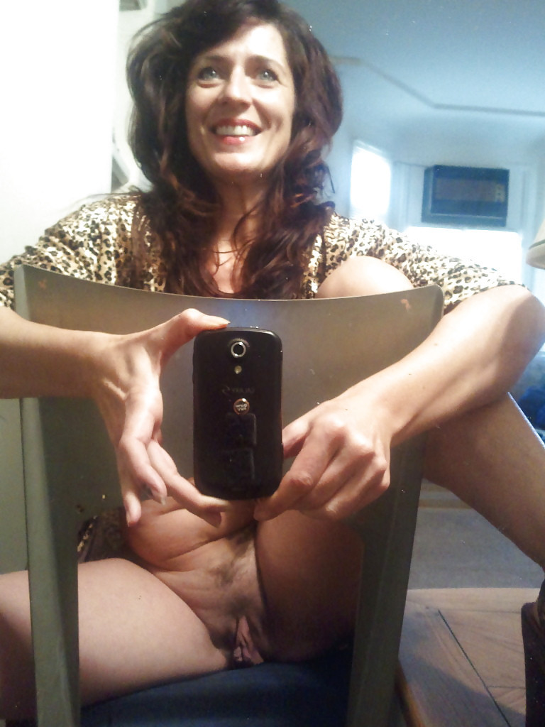 cougar Milf self shot