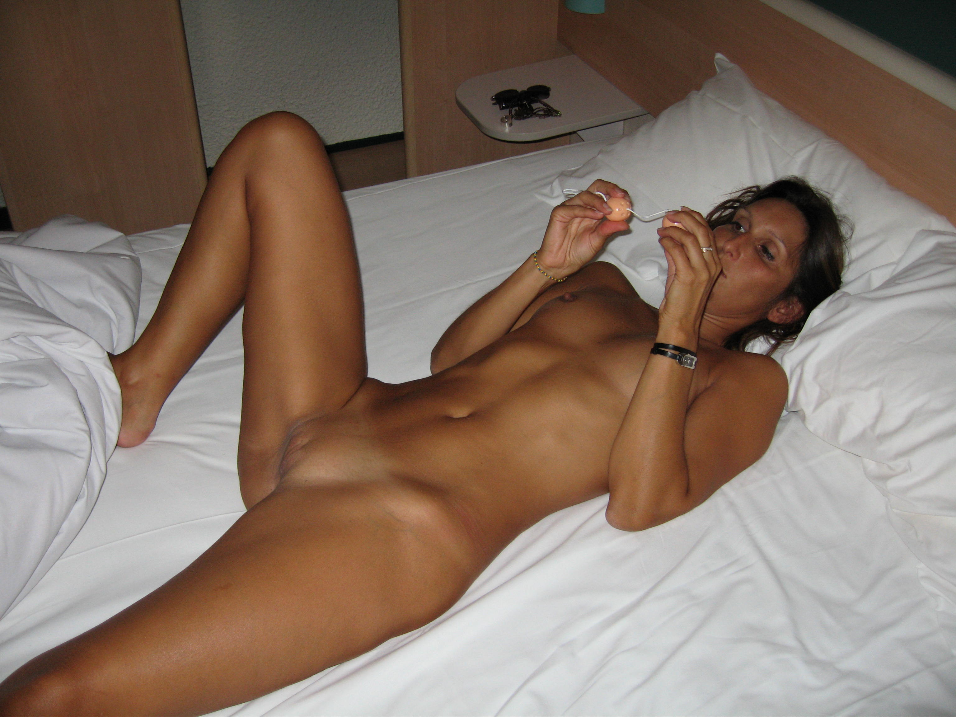 Stockings hot tanned wife