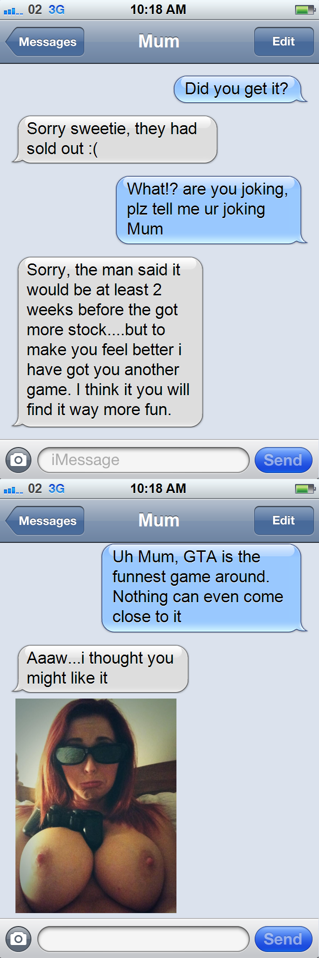 incest message Mom son sexting