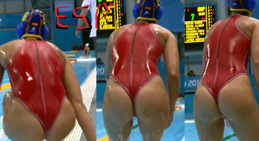 Water polo pussy slip