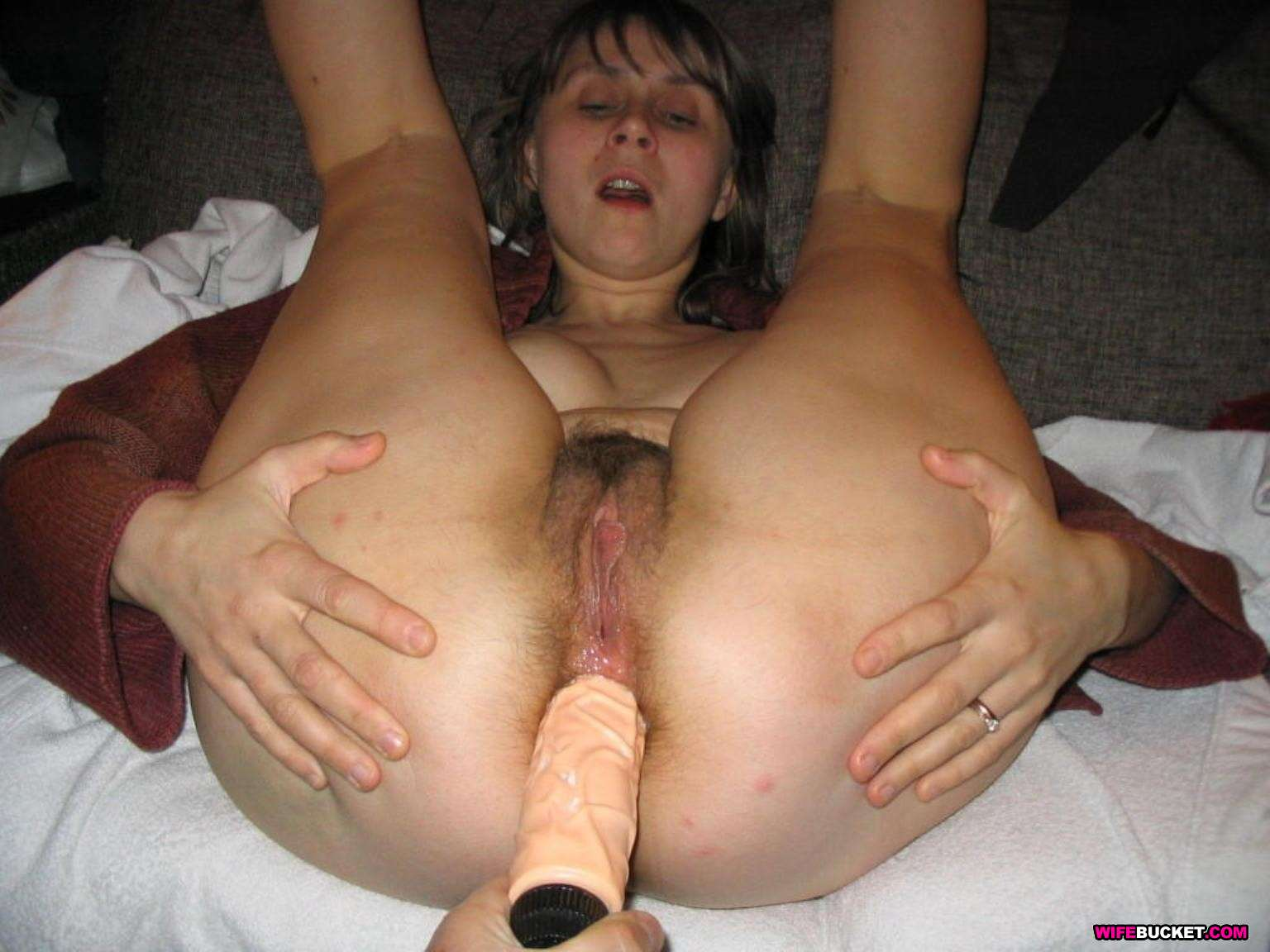 Real wife anal fucked 9