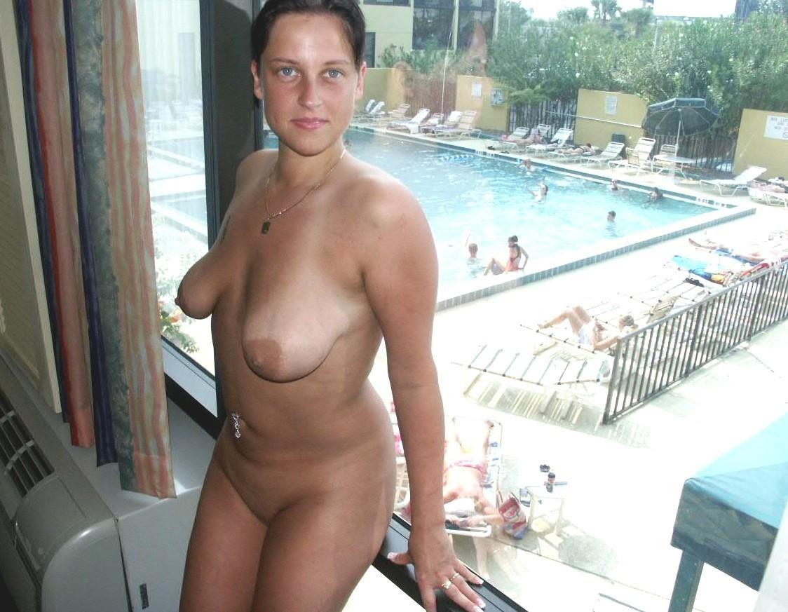 Milf tits saggy with blonde big