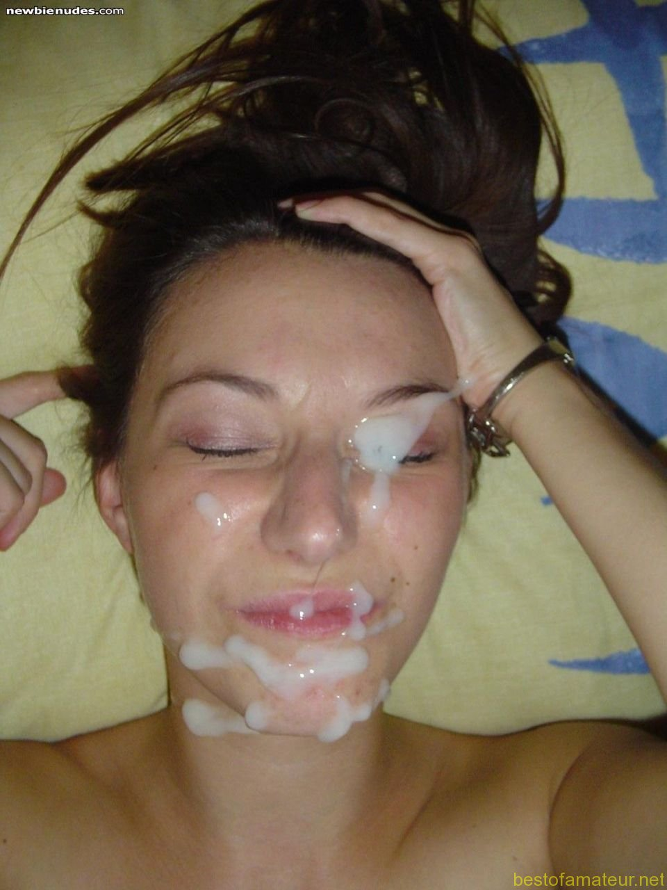 cum covered faces - Goopy Facial Cumshots - MOTHERLESS.COM