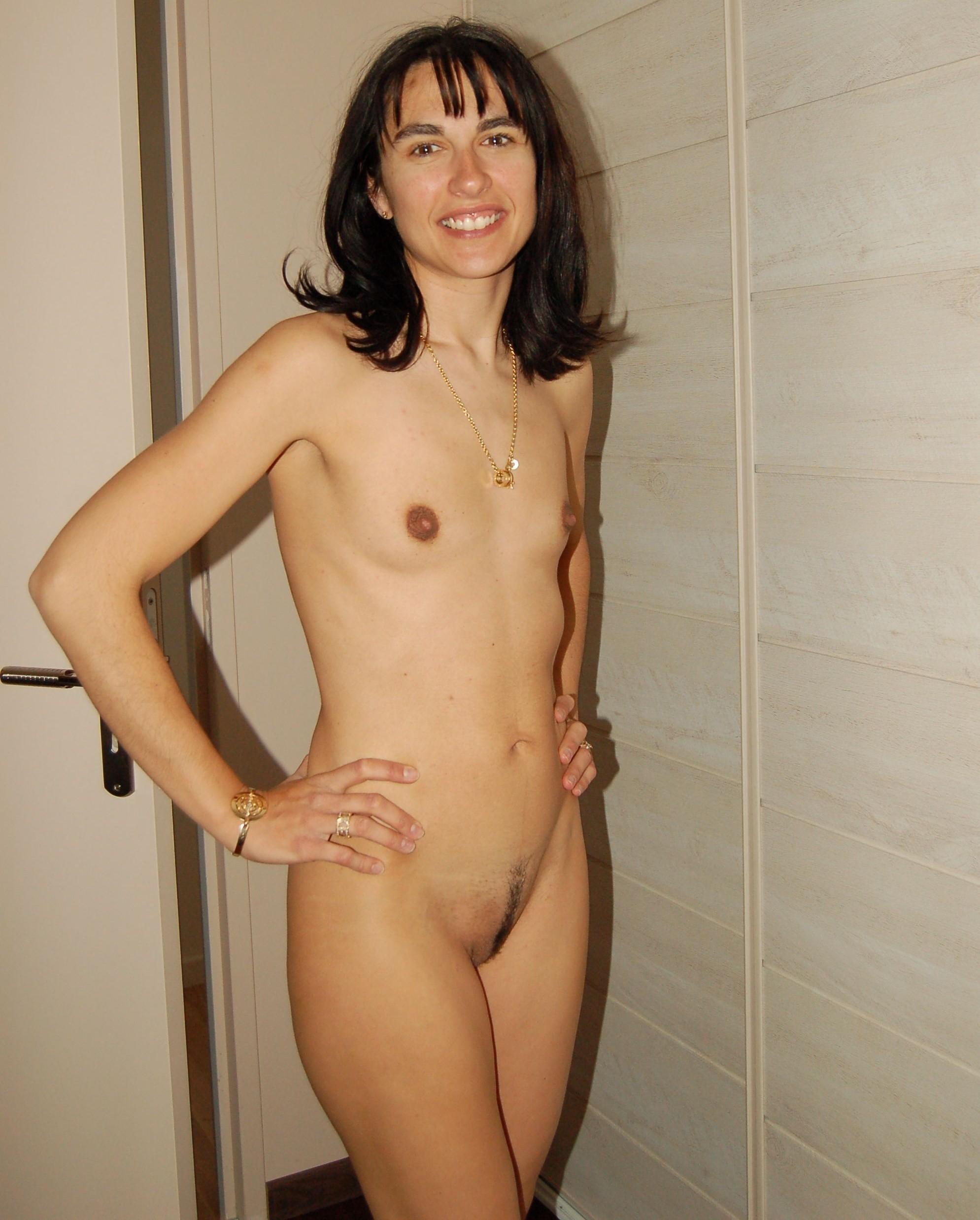 Nude women with small tits