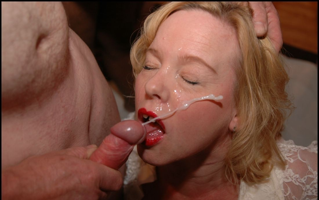 Cumshot Mouthed Older Brit 1