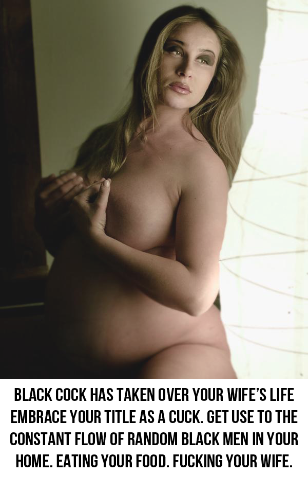interracial wife breeding captions