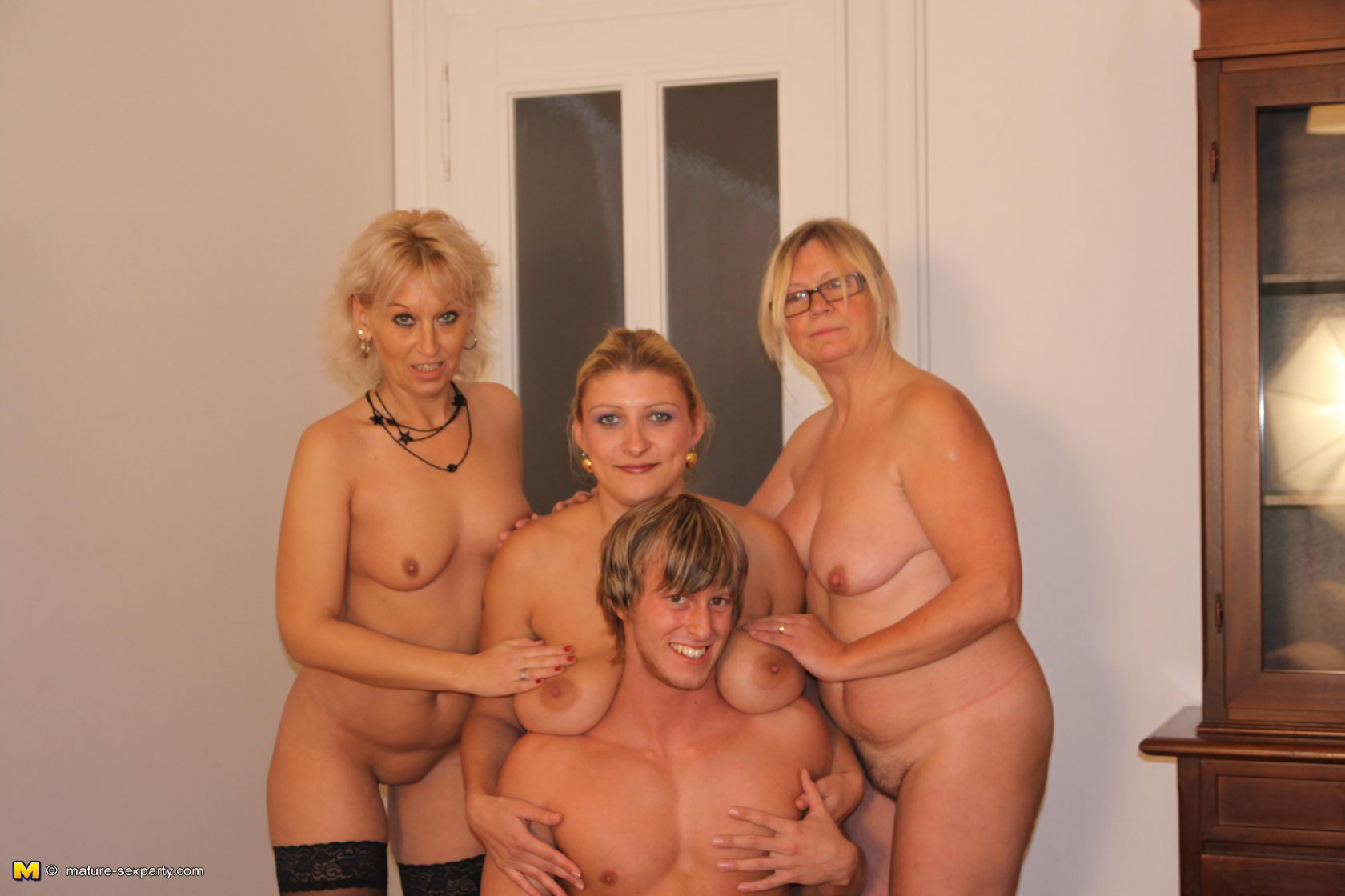Mature nude parties