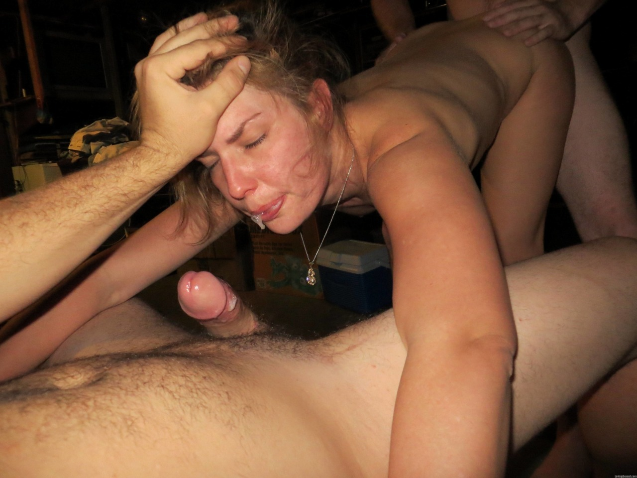 Slut Whore Gangbang Creampie