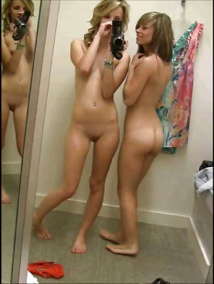 Nude in the dressing room