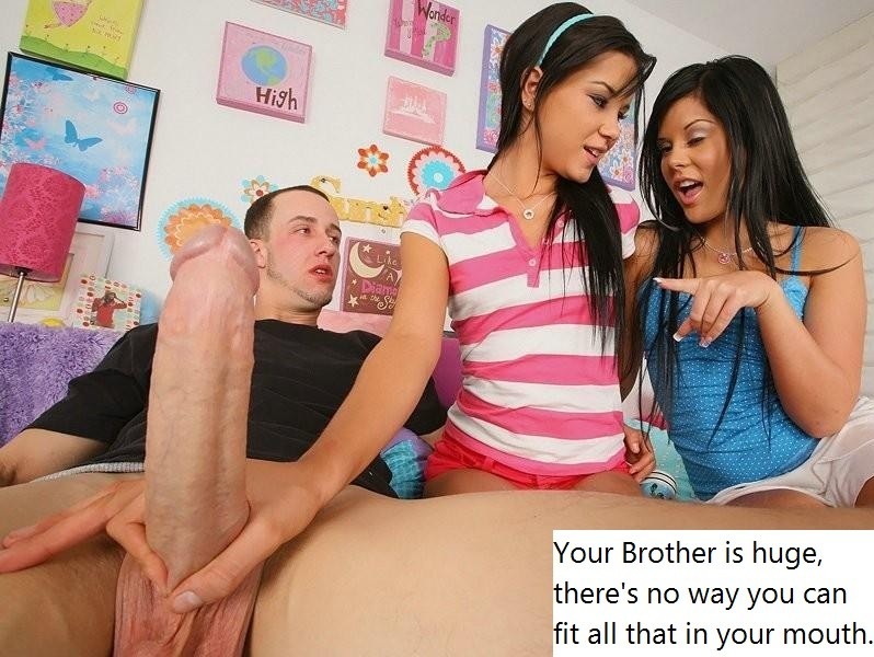 sister giving brother handjob stories