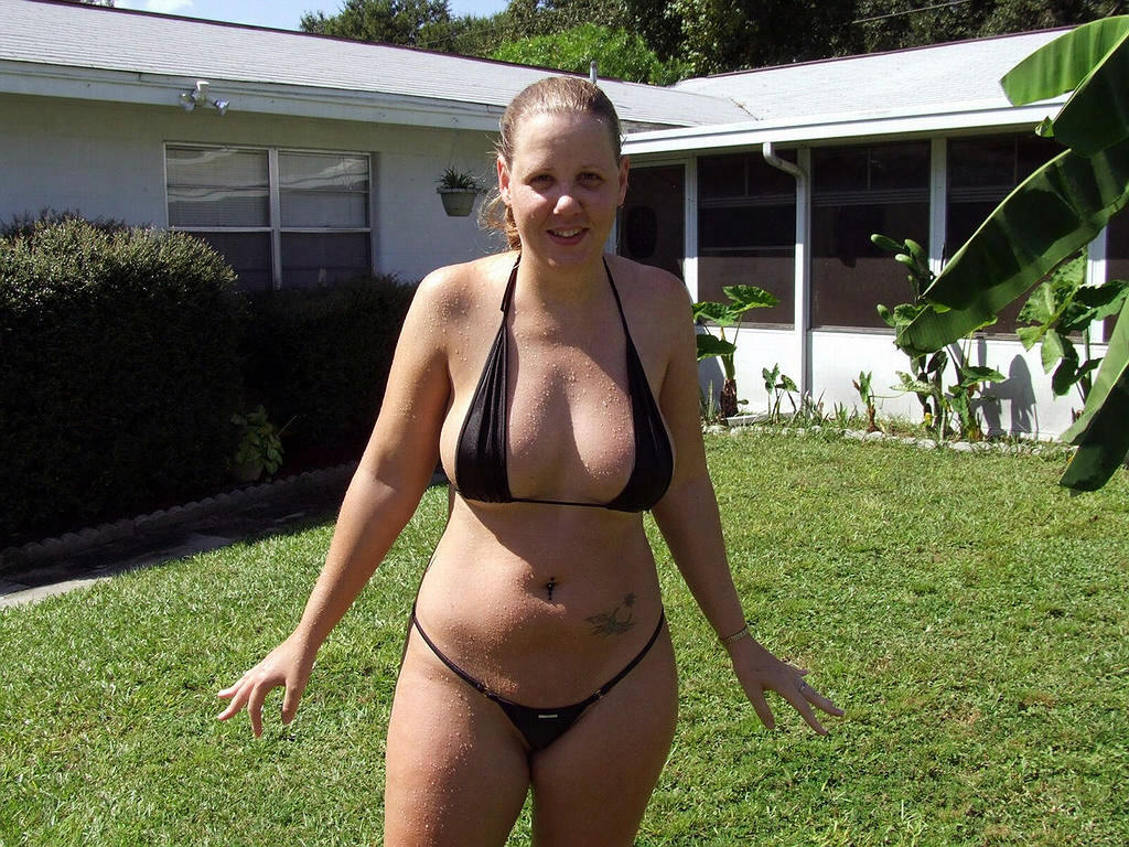chubby amateurs with huge tits on beach