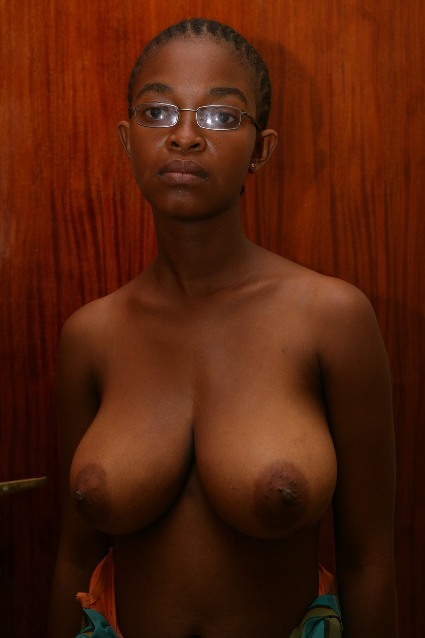 Young busty black girls