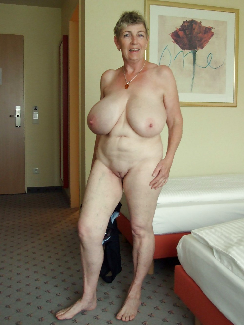For granny with huge tits are certainly