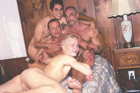 Father and son incest sex
