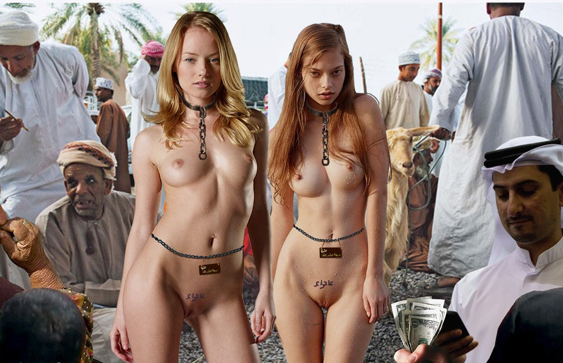 nude slave auction