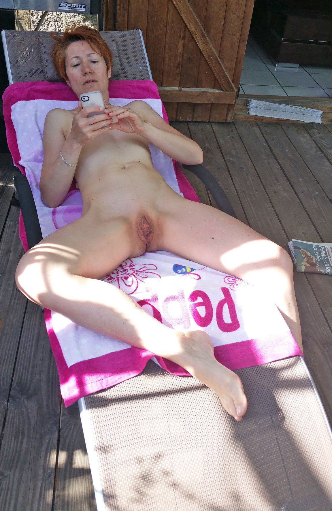 Hairy Red Head Creampie