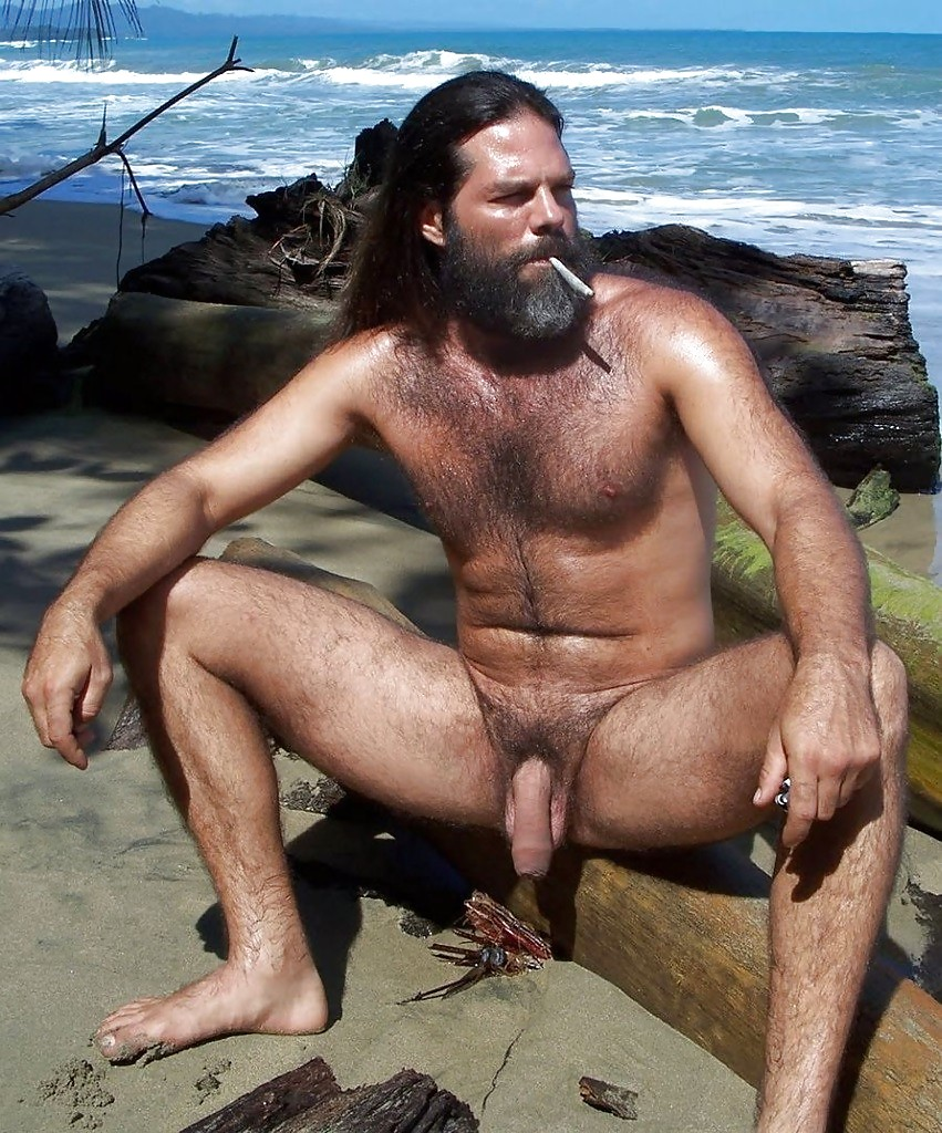 Beach naked men on