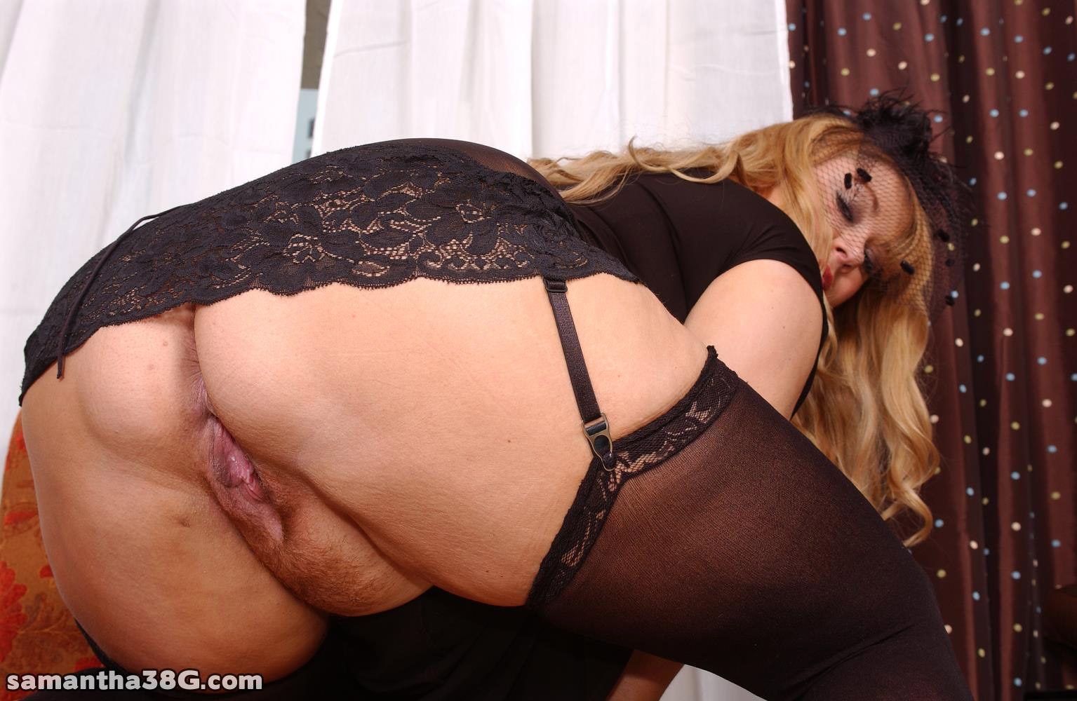Pussy would pantyhose and heels closeups very good sex