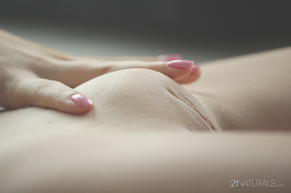 Pussy girl mound nice with