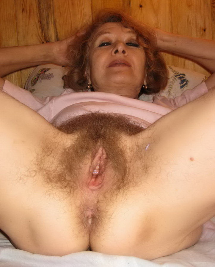 Mature women with very hairy pussy