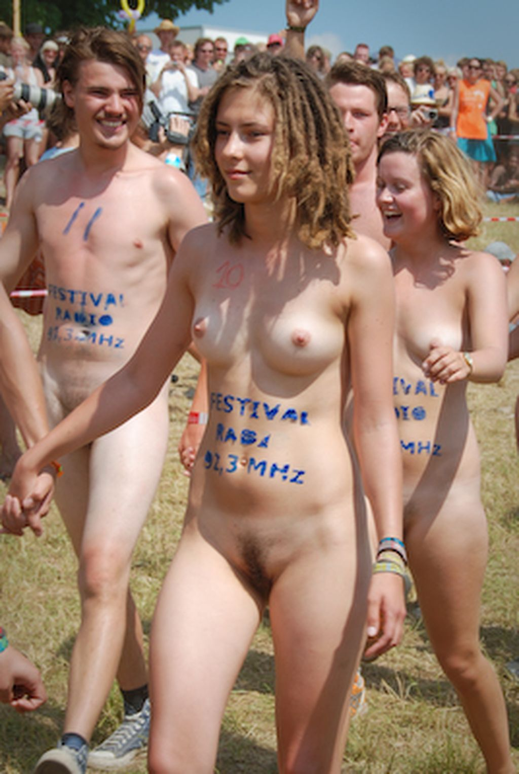 Simply remarkable College naked run girl assured, what