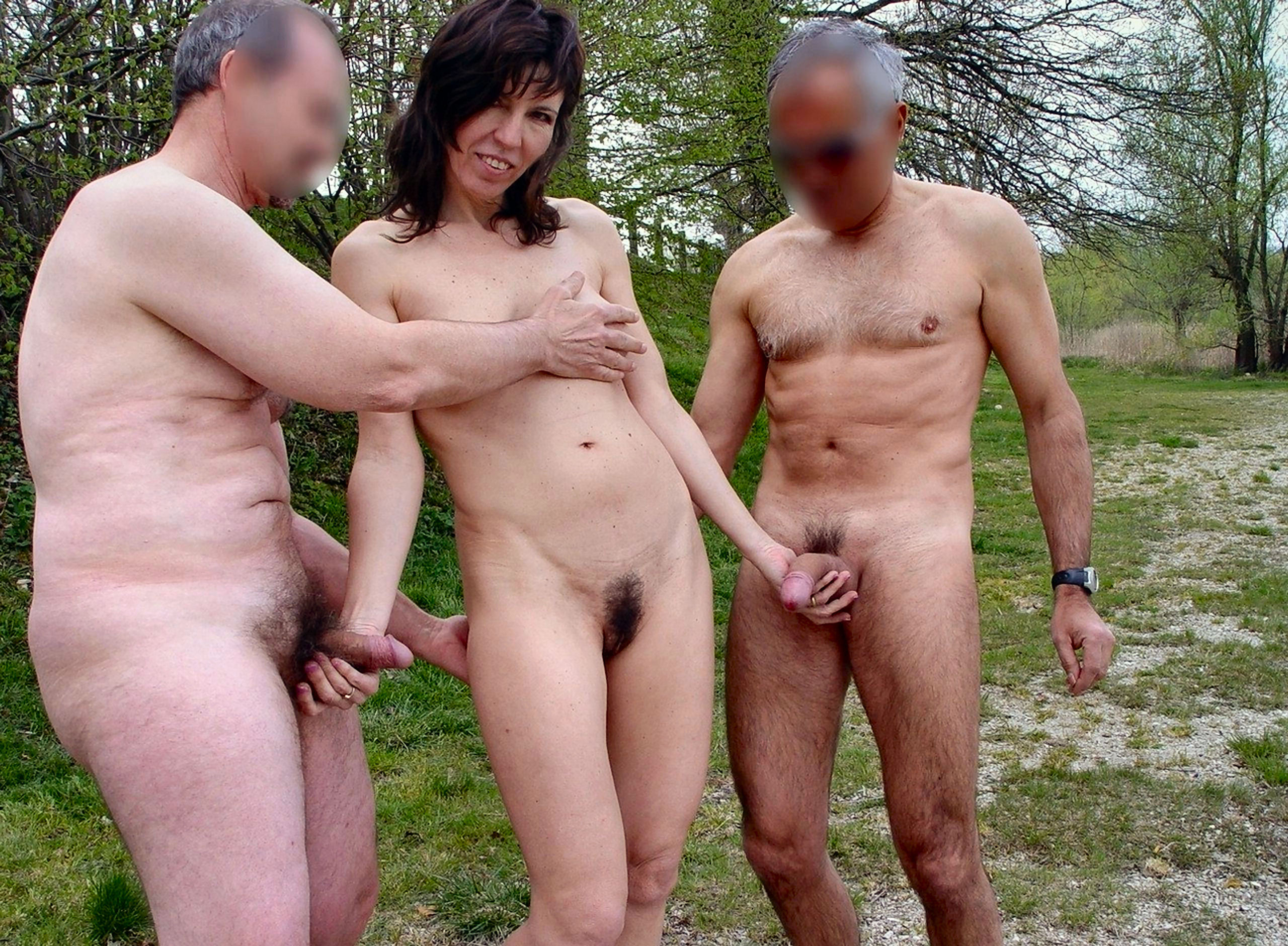 naked wife My friends
