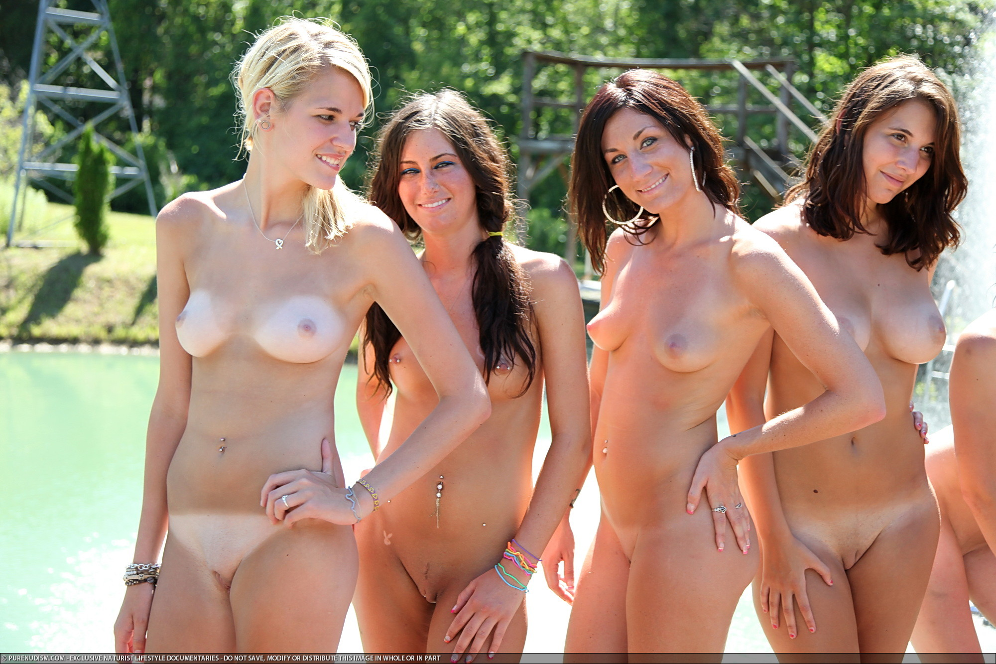 Girls hot sexy nudist naturist