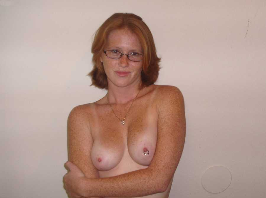 Freckle red hair nude amateur