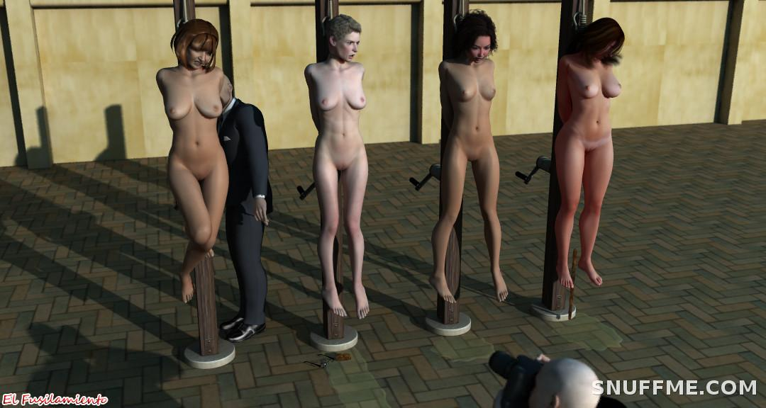 Useful Naked girls hanged