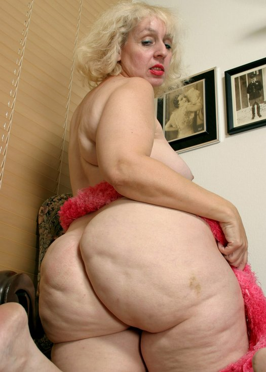 grandma Big ass
