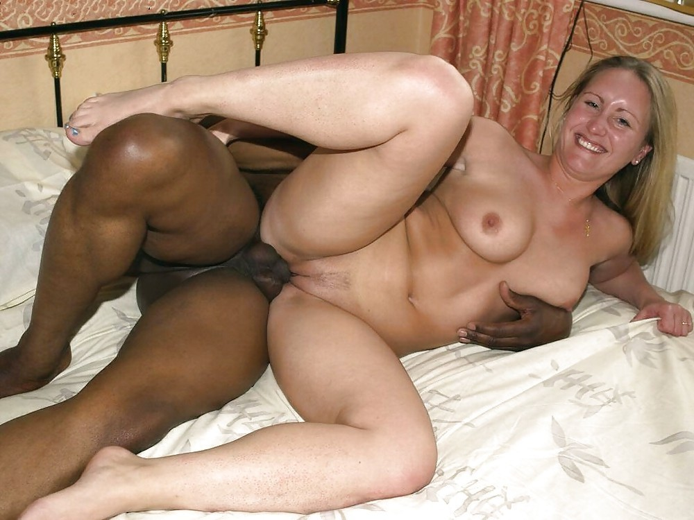 Shocked wife interracial