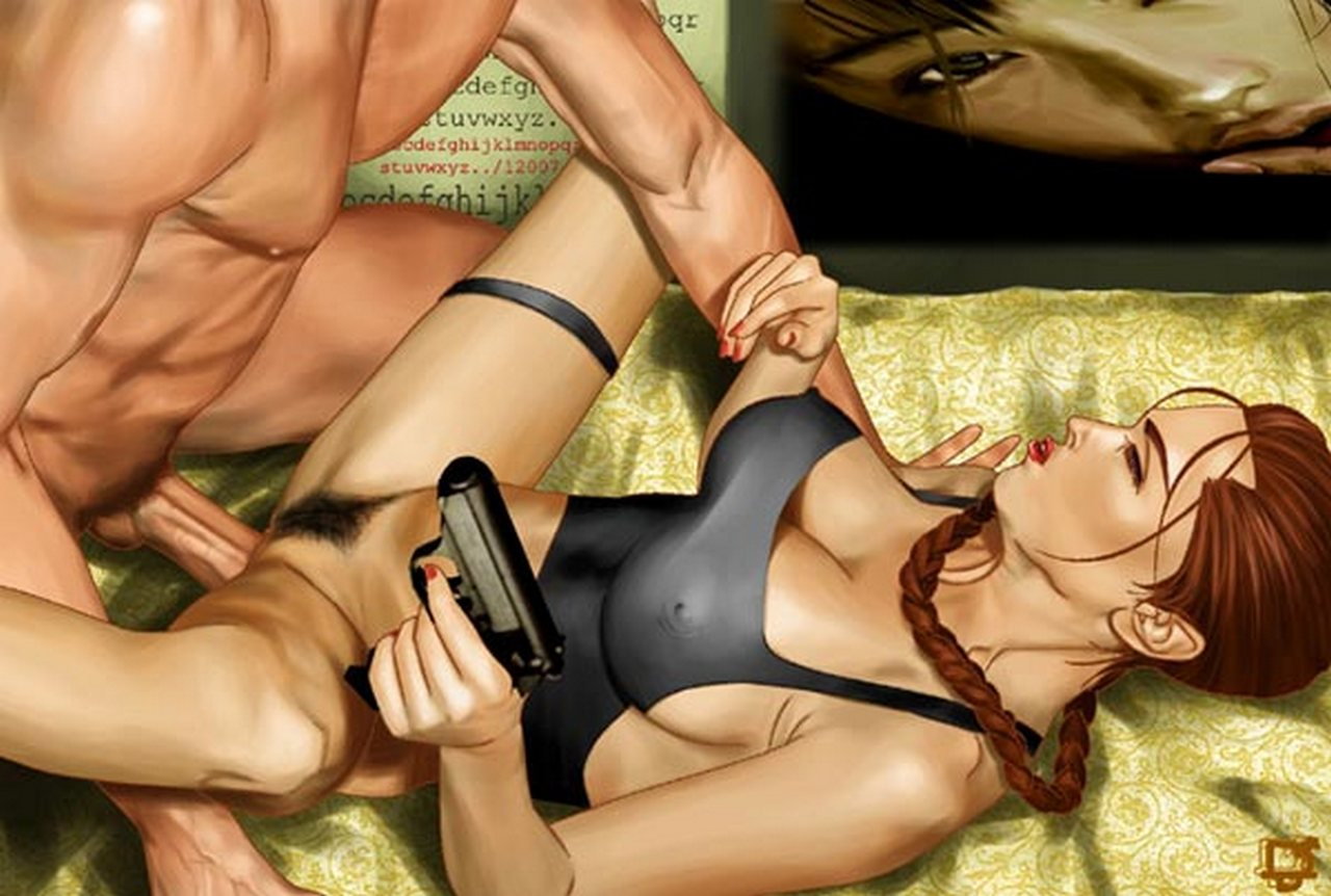 Tomb raider sexy cartoons adult image