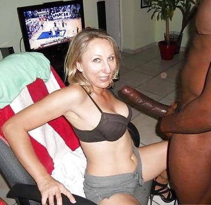Wife Fucks Huge White Cock