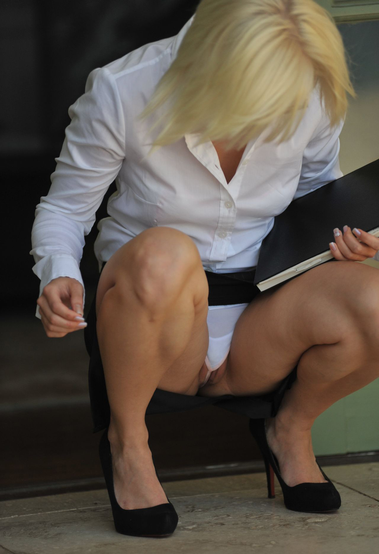 Love Business woman upskirt yes gay STILL