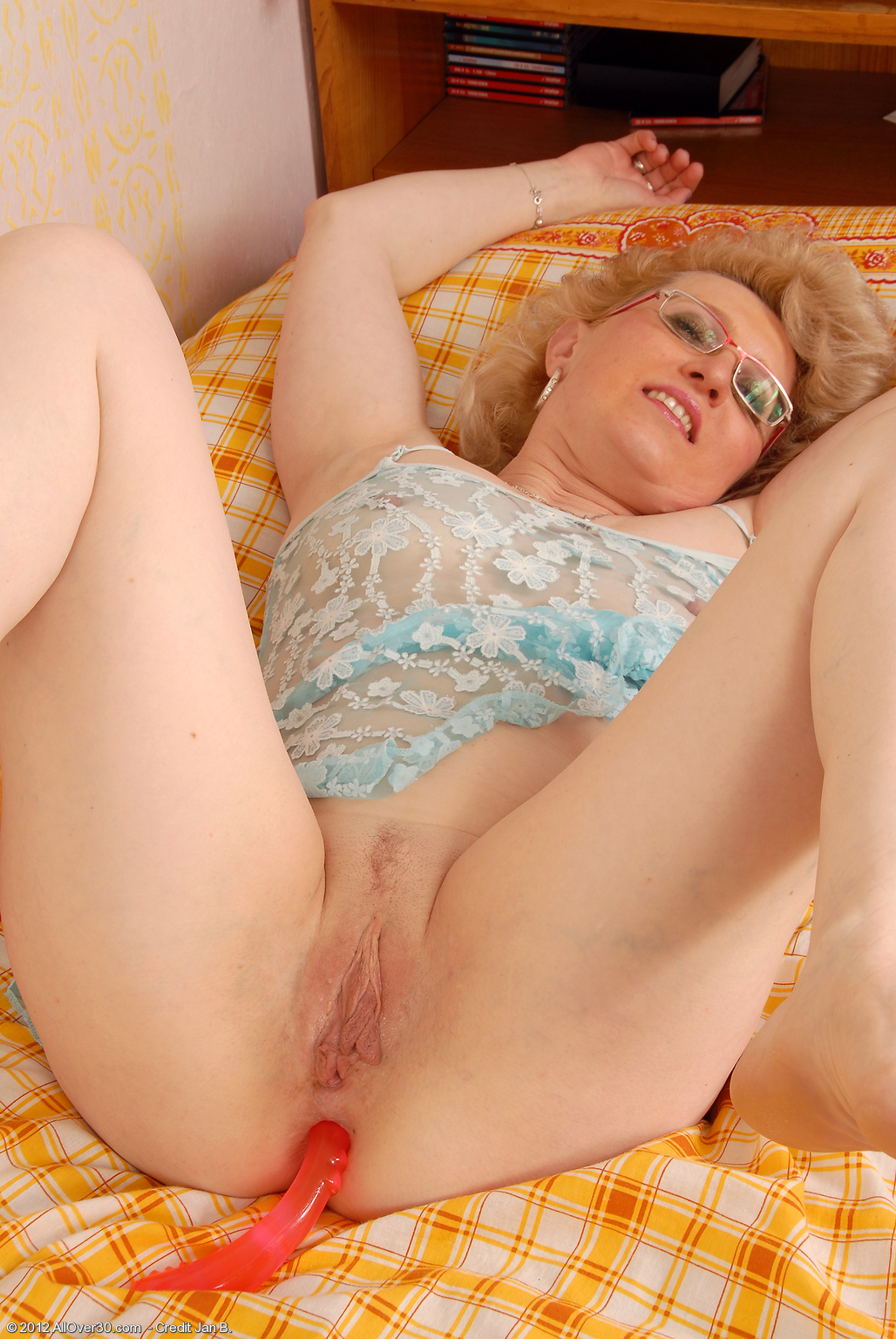 Anal dildo for mature