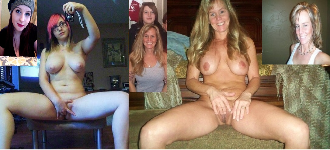 Mother clothed and nude