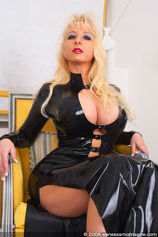 Really. was vanessa montagne black latex photoshoot with you