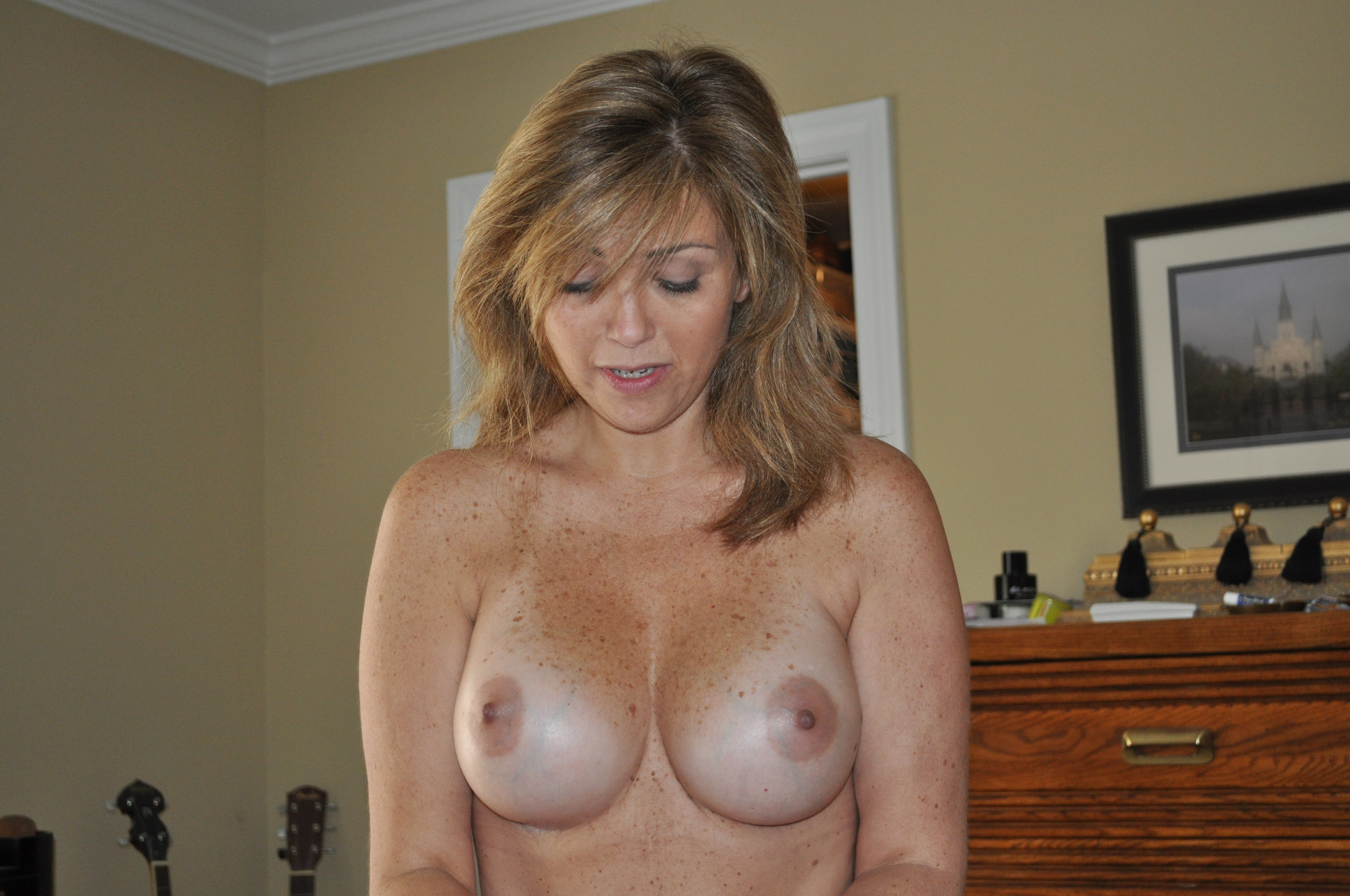 tits hot Freckle blonde