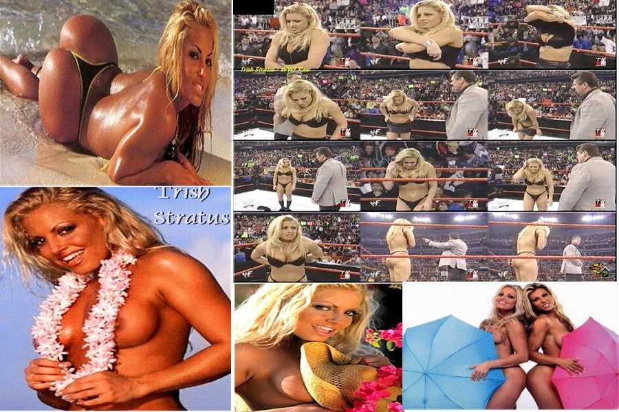 Wwe trish stratus really showing her body naked — img 5